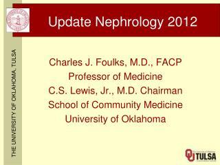 Update Nephrology 2012
