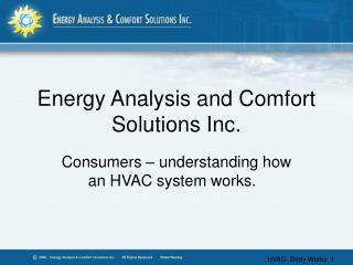 Energy Analysis and Comfort Solutions Inc.