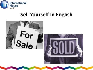 Sell Yourself In English