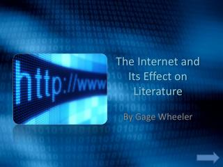 the internet and its effect on Technology can have positive and negative impact on social interactions people all over the world by using the internet and its powerful.