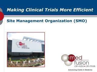Site Management Organization (SMO)