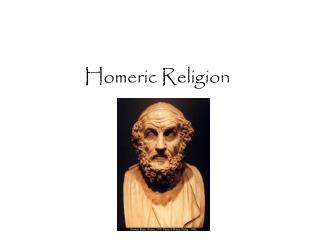 Homeric Religion