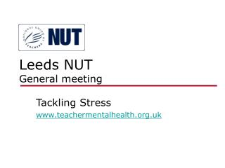 Leeds NUT  General meeting