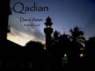 Qadian Darul Aman