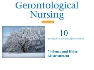 Violence and Elder Mistreatment