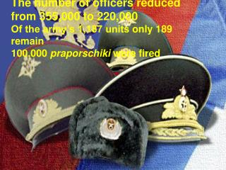The number of officers reduced  from 355,000 to  22 0,000