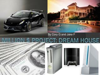 Million $ Project: dream house