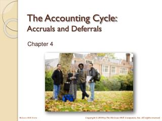 The Accounting Cycle: Accruals and Deferrals