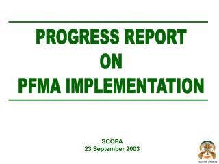 SCOPA 23 September 2003