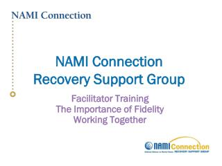 NAMI Connection  Recovery Support Group