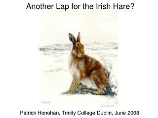 Patrick Honohan, Trinity College Dublin, June 2008
