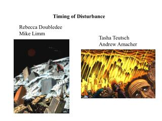 Timing of Disturbance