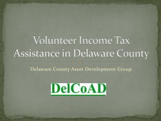 Volunteer Income Tax Assistance in Delaware County