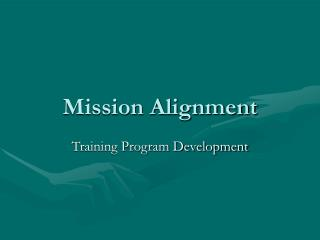 Mission Alignment