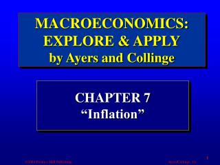 "CHAPTER 7 ""Inflation"""