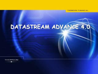 DATASTREAM ADVANCE 4.0
