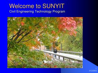 Welcome to SUNYIT   Civil Engineering Technology Program
