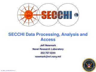 SECCHI Data Processing, Analysis and Access