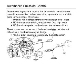 Automobile Emission Control