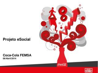 Projeto eSocial Coca-Cola FEMSA 08/Abril/2014