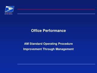 Office Performance