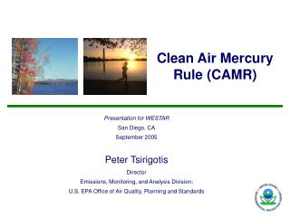 Clean Air Mercury Rule (CAMR)