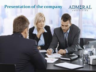 Presentation of the company