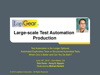 Test Automation is No Longer Optional. Automated Exploratory Tests or Structured Automated Tests