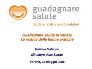 Daniela Galeone  Ministero della Salute