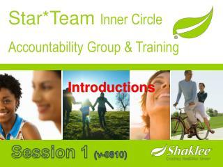 Star*Team Inner Circle Accountability Group & Training