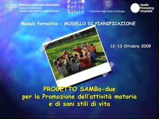 Modulo formativo - MODELLO DI PIANIFICAZIONE