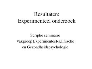goede structuur thesis