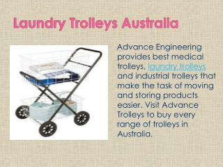 Laundry Trolleys Australia