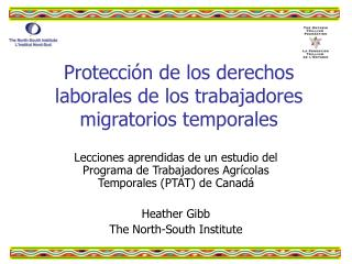 Protección de los derechos laborales de los trabajadores migratorios temporales
