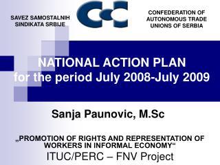 Sanja Paunovic, M.Sc