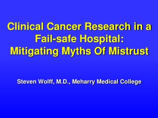 Cancer Clinical Trials