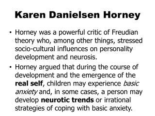 Karen Danielsen Horney