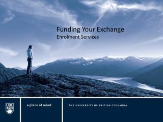 Funding Your Exchange Enrolment Services