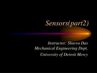 Sensors(part2)