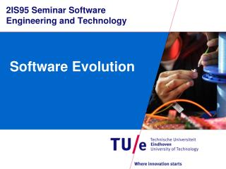 2IS95 Seminar Software  Engineering and  Technology