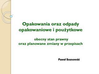 Paweł Sosnowski