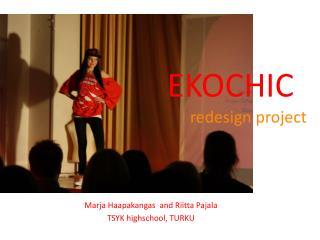 EKOCHIC redesign project
