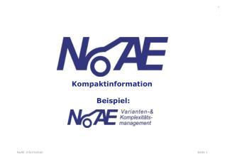 Kompaktinformation  Beispiel: