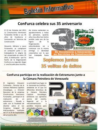 ConFurca celebra sus 35 aniversario