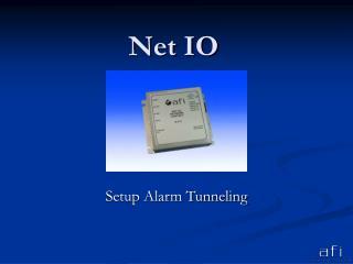 Net IO