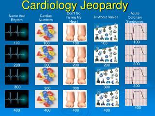 Cardiology Jeopardy