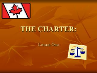 THE CHARTER: