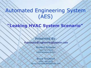 Automated Engineering System (AES)