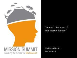 Niels van Buren 14-09-2013