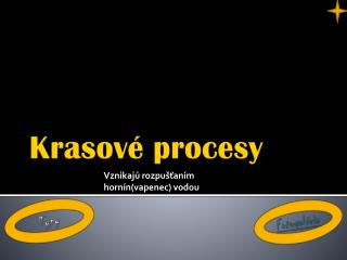 Krasové procesy